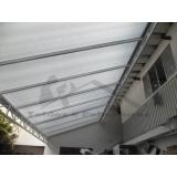 instalação de cobertura de policarbonato em comércio Vila Guilherme