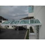 instalação de cobertura de policarbonato fixo Jardim América