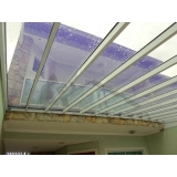 instalação de cobertura de policarbonato para garagem preço Francisco Morato