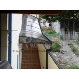 instalação de cobertura de policarbonato passarela Vila Leopoldina