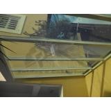 instalação de coberturas de policarbonato compacta Santo Amaro