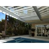 instalação de coberturas de policarbonato para piscina Zona Norte