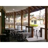 instalação de cortina de rolo para restaurante Alto de Pinheiros