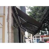 loja de toldo articulado preto Cajamar