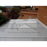manutenção de cobertura de policarbonato alveolar preço Jardim São Paulo