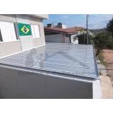 manutenção para cobertura em policarbonato de garagem preço Santana