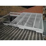 manutenção para cobertura em policarbonato retrátil