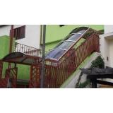 onde encontrar cobertura de policarbonato para escada Pacaembu