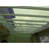 orçamento de instalação de cobertura de policarbonato para garagem Alphaville