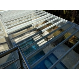 orçamento de instalação de cobertura de policarbonato para piscina Vila Leopoldina