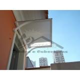 preço de toldo para porta policarbonato Ibirapuera