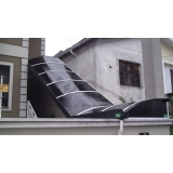 quanto custa cobertura de policarbonato para escada Butantã