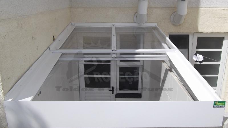 quanto custa cobertura de policarbonato retrátil para janelas Itaim Bibi