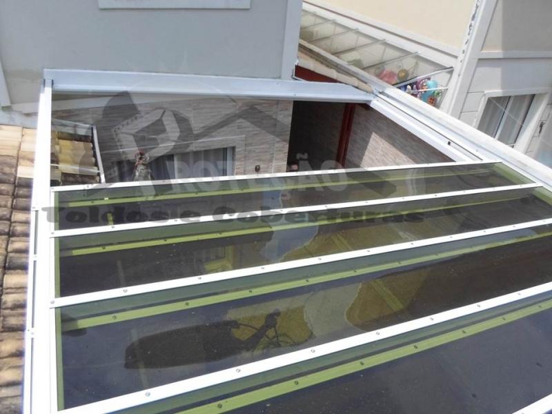 quanto custa coberturas de policarbonato retrátil Vila Maria