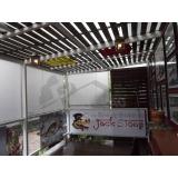 quanto custa cortina de rolo para restaurante Jardim Bonfiglioli