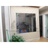quanto custa cortina enrolável para área externa Vila Gustavo
