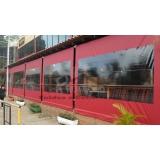 quanto custa cortina tipo painel lona Cidade Dutra