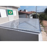 reforma de cobertura de policarbonato refletivo Vargem Grande Paulista