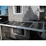 serviço de conserto de cobertura em policarbonato Casa Verde