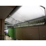toldo retrátil de enrolar transparente Casa Verde