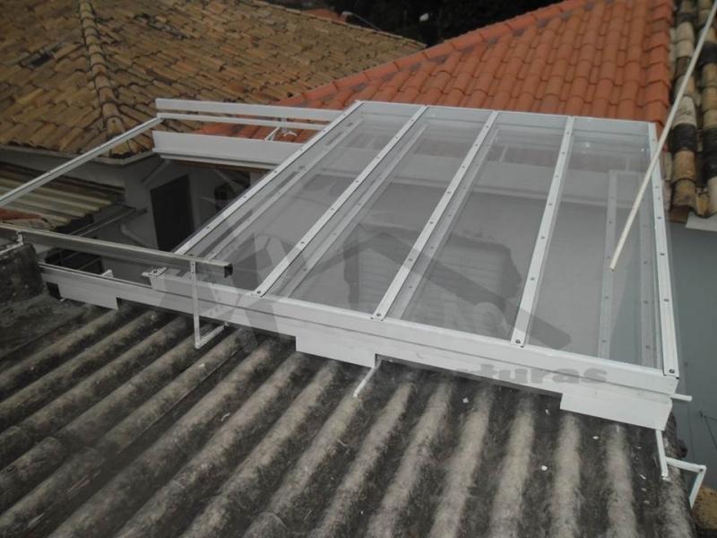 toldos articulados de alumínio Vila Medeiros