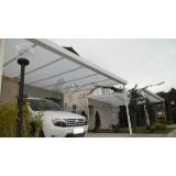 toldos de policarbonato para carros preço Jabaquara