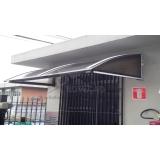 toldos de policarbonato para janelas preço Barra Funda
