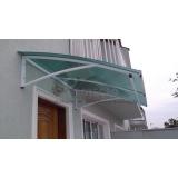 toldos de policarbonato para janelas Barra Funda