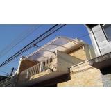 toldos de policarbonato para residências preço Ibirapuera