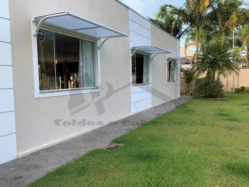 venda de coberturas de policarbonato retrátil Itaquaquecetuba