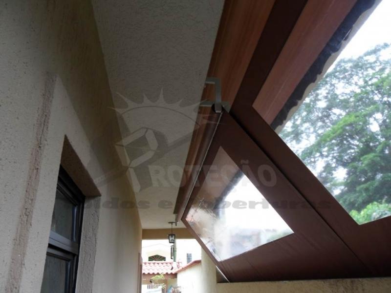 venda de toldo articulado para porta de entrada Sacomã
