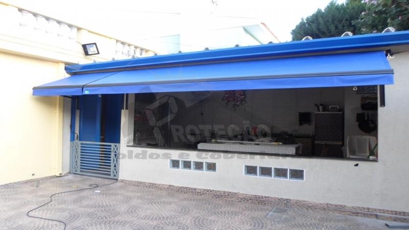 Toldo Lona em São Paulo Butantã - Toldos Fixos em Lona