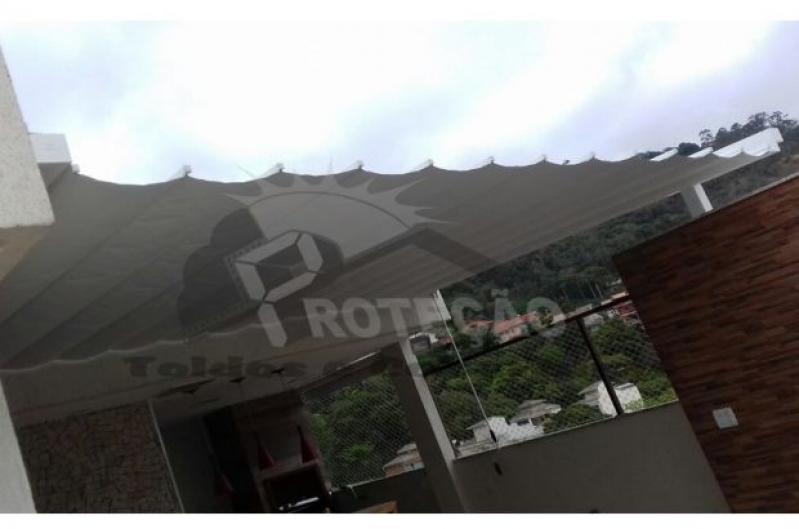 Toldo para Pérgola 3x3 Preço Jardim São Paulo - Toldo Pérgola Motorizado