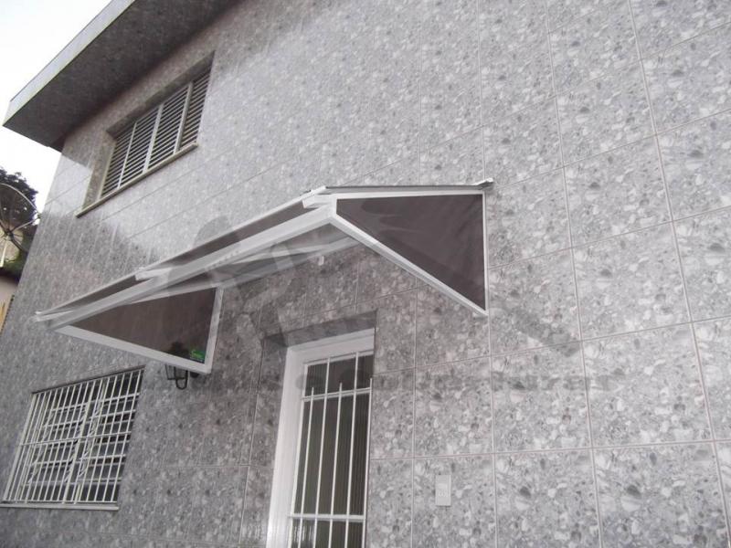 Toldo para Porta de Sala com Menor Preço Ipiranga - Toldo para Porta de Entrada