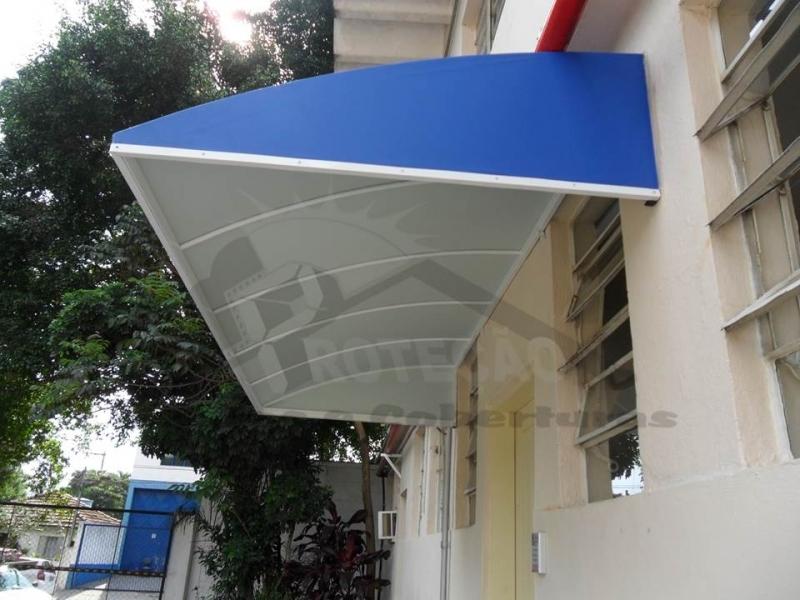 Toldo para Porta Residencial Cachoeirinha - Toldo para Porta de Entrada