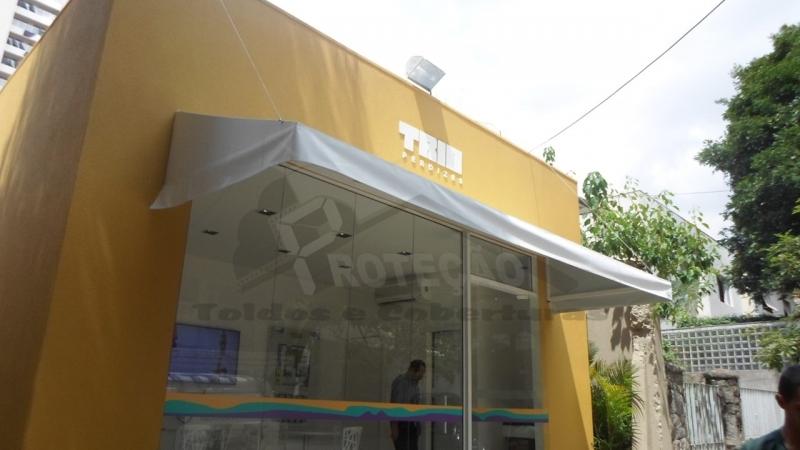 Toldos em Lona Preço Tucuruvi - Toldos Fixos em Lona